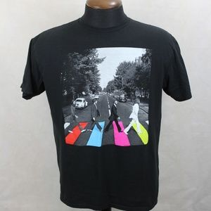 The Beatles Classic Abbey Road Cover Art T-shirt